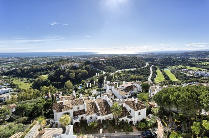 Benahavis, mountain village on the edge of Marbella