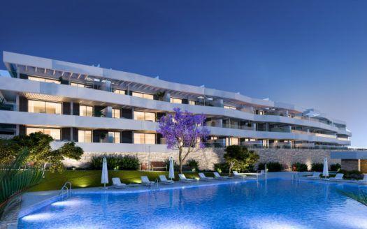 ARFA1278 - Moderne Wohnungen mit Meerblick in Valle Romano in Estepona  zu verkaufen