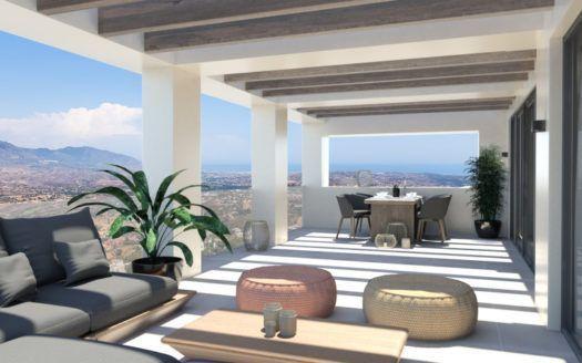 ARFTH147 - 14 Townhäuser zum Verkauf in La Mairena östlich von Marbella