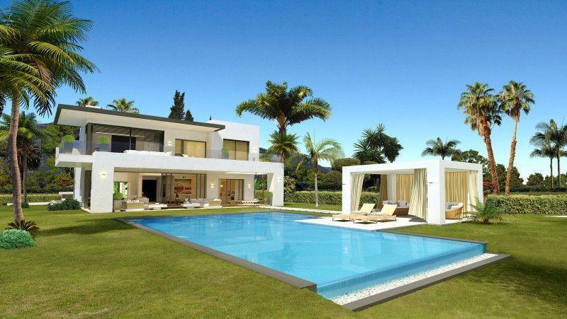 Moderne Villen In Bestlage Mit Meerblick Zu Verkaufen In Marbella