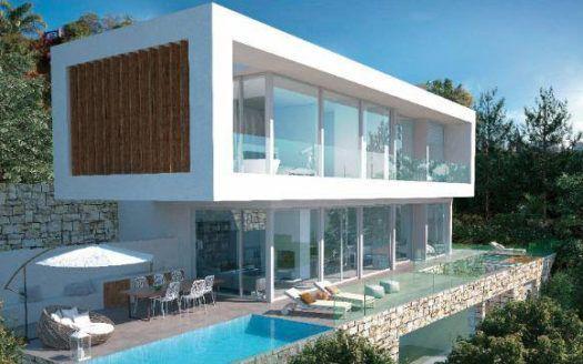 ARFV2017 - Villa zum Verkauf -  Projekt für moderne Villa in El Rosario in Marbella