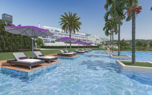 ARFA1349 - Neubauprojekt für Wohnungen und Penthäuser zum Verkauf bei Calanova Golf in Mijas