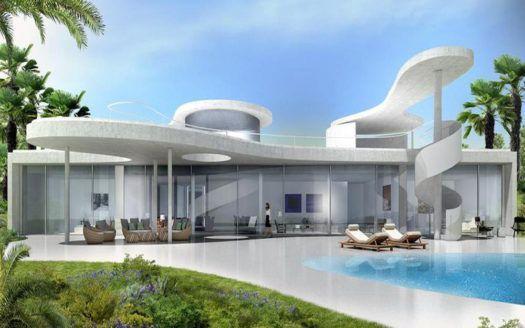 ARFV1752 - Prachtvolle Villen entstehen direkt am Golfplatz von Finca Cortesin nahe La Duquesa
