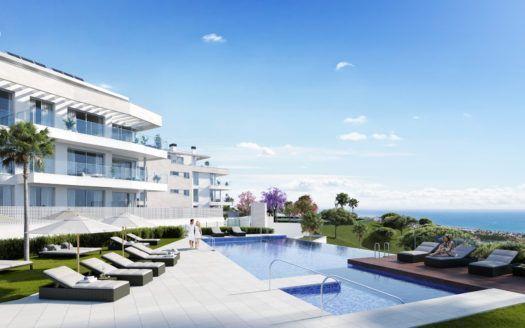 ARFA1253-1 - Fantastische neue Wohnungen und Penthäuser zum Verkauf in Mijas Costa