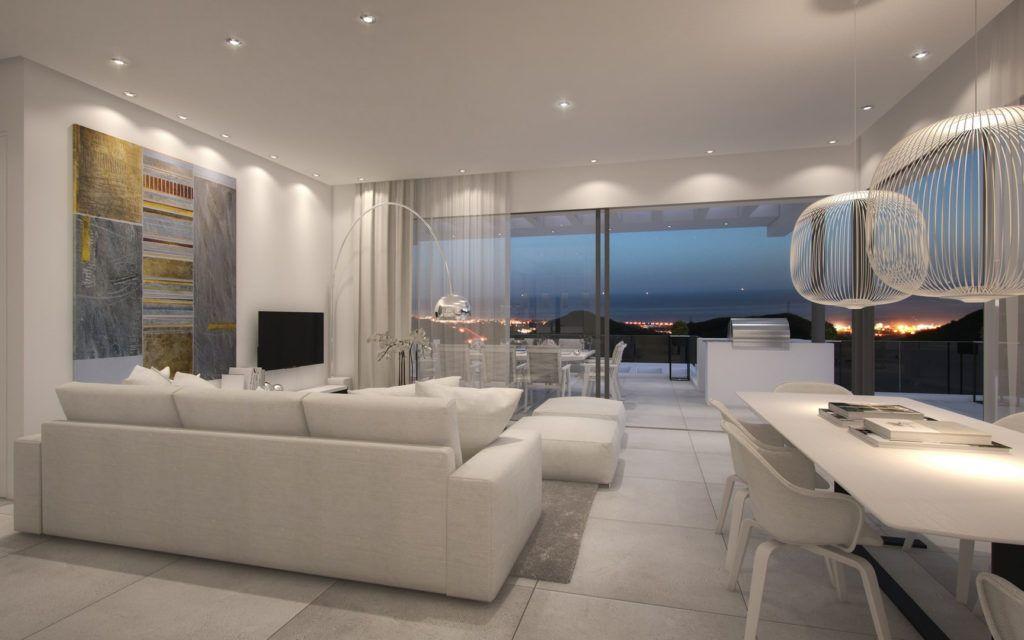 ARFA1118 - Moderne Meerblick Wohnungen zu verkaufen oberhalb von Marbella Stadt