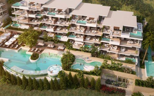 ARFA1145-1 - Exklusive Neubau-Wohnungen und Penthäuser zum Verkauf in in La Cala de Mijas mit Meerblick