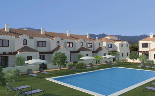 ARFTH098 - Neubauprojekt mit Reihenhäusern zum Verkauf in La Noria in La Cala de Mijas