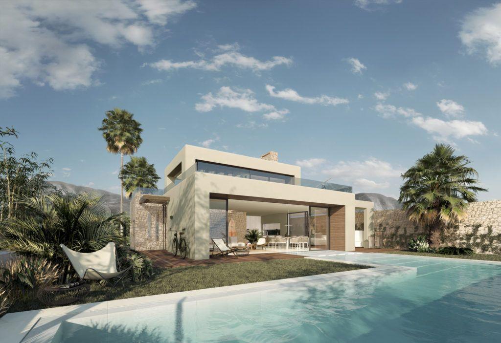 ARFV1828 - Schlüsselfertige Villen auf dem Grundstück Ihrer Wahl in Marbella
