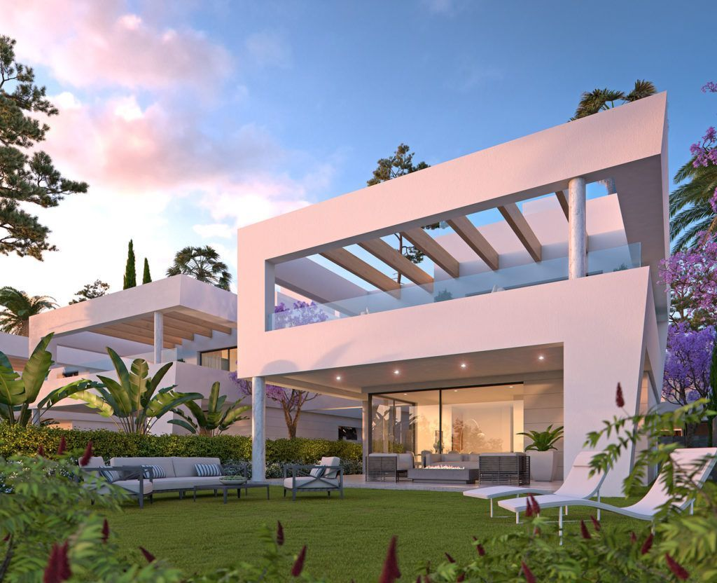 ARFV1854 - 10 moderne Villen entstehen in San Pedro de Alcantara bei Marbella