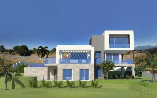 ARFV1855 - 10 moderne Neubau Villen bei La Cala Golf zu verkaufen