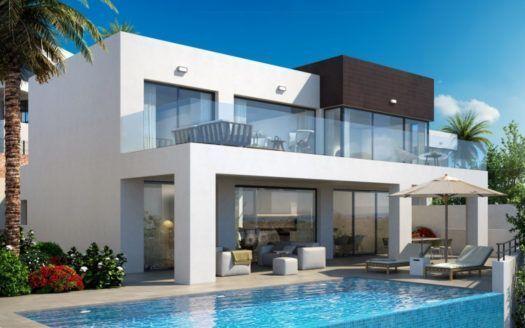 ARFV1865 - 5 moderne Neubau Villen zum Verkauf in La Cala de Mijas