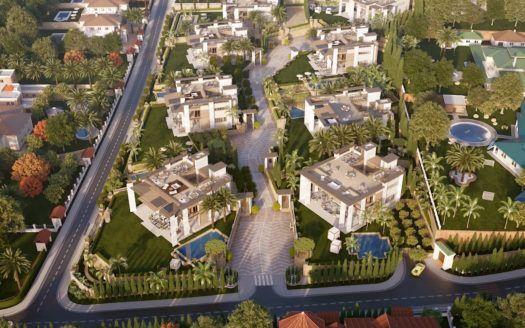 ARFV2102 - 8 Luxus Villen der Superlative entstehen bei Puerto Banus