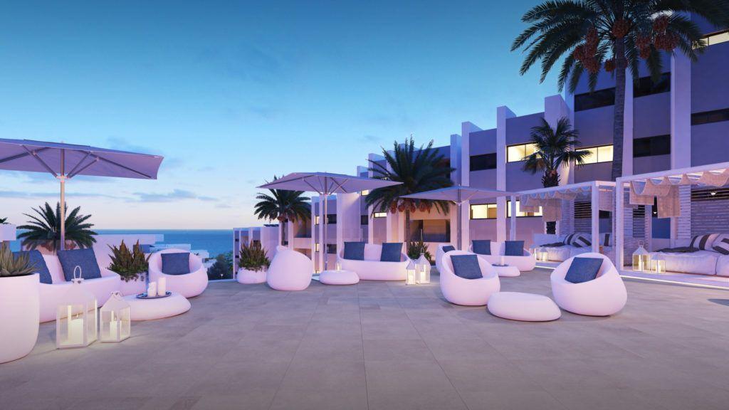 ARFA1350 - Wunderschöne Apartments mit Meerblick in Manilva zu verkaufen.