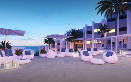 Wunderschöne Apartments mit Meerblick in Manilva zu verkaufen.