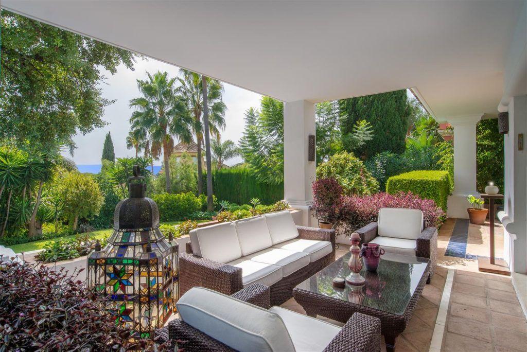 ARFV1909 - Stilvolle Villa in Altos Reales in der Sierra Blanca in der Goldenen Meile von Marbella