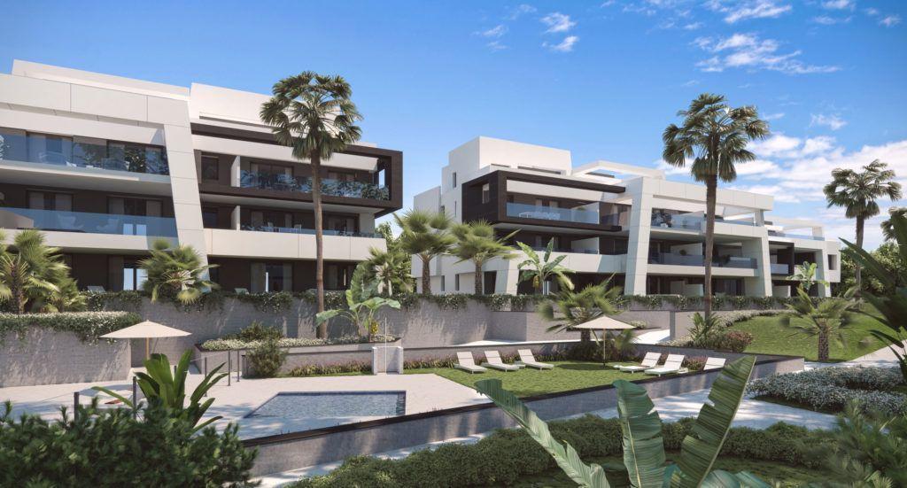 ARFA1184 - Neubauwohnungen zu verkaufen am Safari Park von Estepona