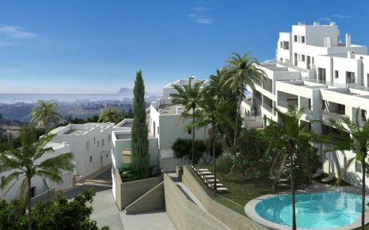 ARFA1187-3 - Projektierte Penthäuser und Duplexwohnungen zum Verkauf in Los Altos de Los Monteros in Marbella