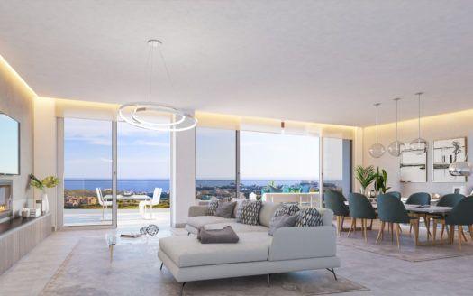 ARFA1307 - Neubauprojekt für Wohnungen und Penthäuser zum Verkauf bei Calanova Golf in Mijas