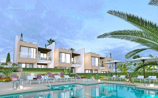 ARFTH154 - 8 Neubau-Immobilien zum Verkauf in Nueva Andalucia