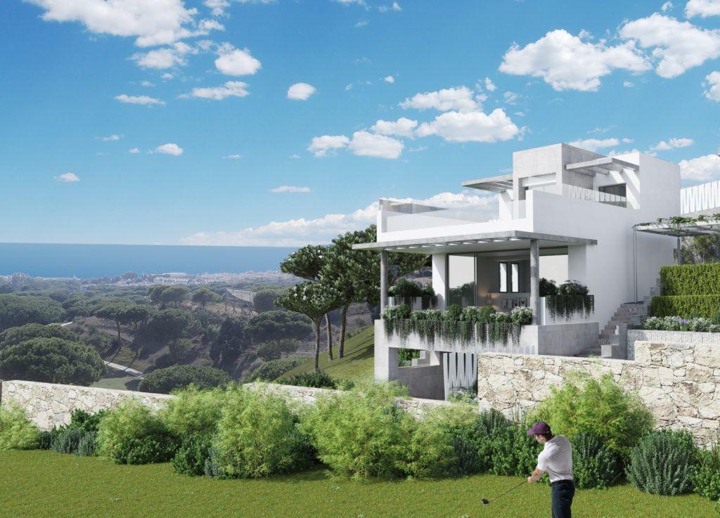 ARFTH127 - Projekt für 23 Townhäuser und 2 Villen zum Verkauf in Cabopino in Marbella