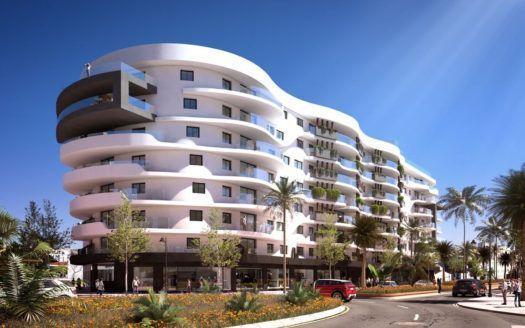 ARFA1232 - Moderne Stadt-Wohnungen in Estepona Zentrum zu verkaufen
