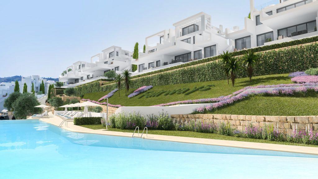 ARFA1243 - Projekt für Neubauwohnungen und Penthäuser zum Verkauf in La Cala Golf in Mijas
