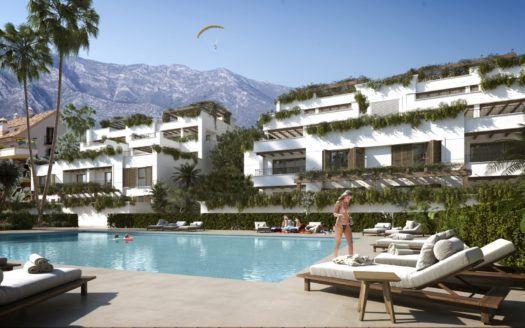 ARFA695-1 - Neubau Wohnungen und Penthäuser in der Goldenen Meile von Marbella zu verkaufen
