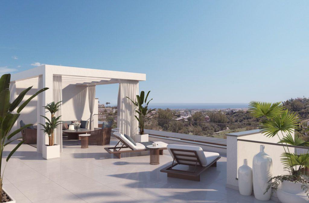 ARFA1195 - Neubau Wohnungen zu verkaufen in La Quinta bei Benahavis