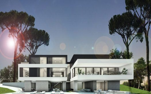 ARFV1615 - Moderne Neubauvillen zum Verkauf mit Meerblick in La Mairena in Marbella