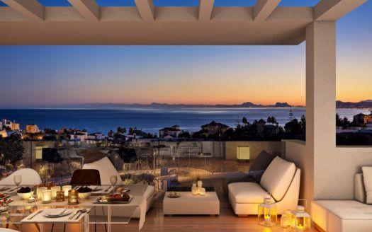 ARFA1371 - 74 Wohnungen in exzellenter Lage und Design in Estepona
