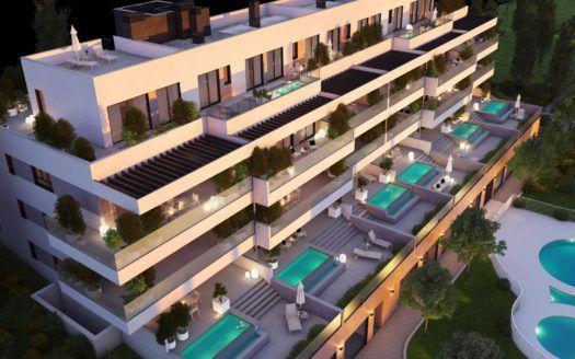 ARFA1351 - Wohnungen und Penthäuser zum Verkauf in La Cala de Mijas