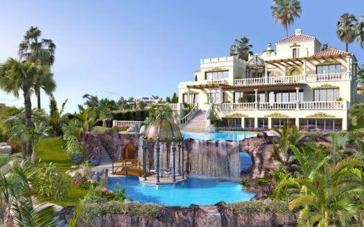 ARFV2075 - Hochherrschaftliche Villa zum Verkauf in Los Flamingos in Benahavis