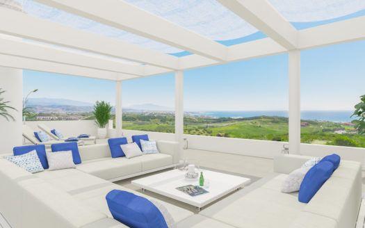 ARFA1070 - Wohnungen und Penthäuser zu verkaufen in Urb. Finca Cortesin bei La Duquesa