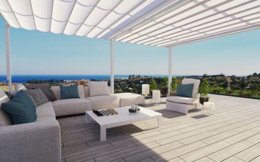 ARFA1308 - Moderne Wohnungen und Reihenhäuser zu verkaufen in Cancelada nahe Marbella