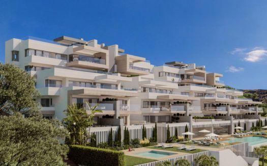ARFA1206 - Boutique-Projekt von eleganten und geräumigen Apartments und Penthäusern zu verkaufen in Estepona