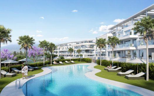 ARFA1253 - Fantastische neue Wohnungen und Penthäuser zum Verkauf in Mijas Costa
