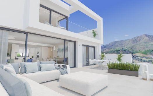 ARFA1243-1 - Projekt für Neubauwohnungen und Penthäuser zum Verkauf in La Cala Golf in Mijas
