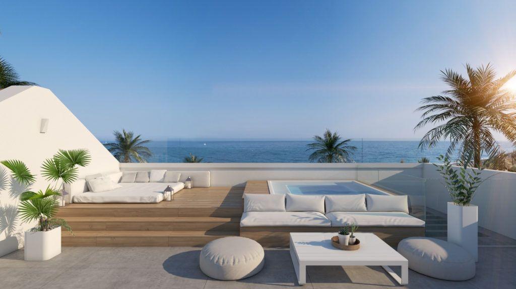 ARFV2051-245 - Neubau Villa direkt am Meer zu verkaufen in El Saladillo in Estepona