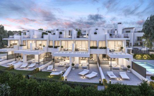 ARFTH141 - 6 einzigartige Häuser am Strand von Estepona zu verkaufen