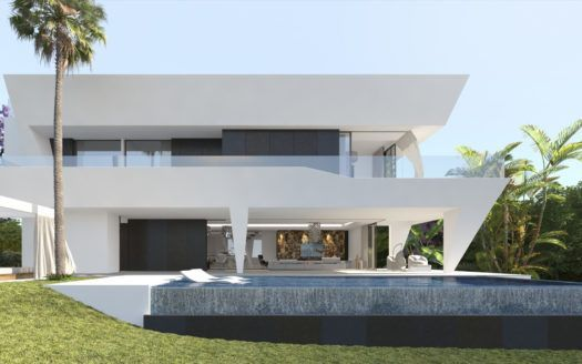 ARFV1814 - Neubauvillen zu verkaufen nahe El Paraiso in Estepona