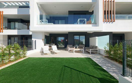 ARFA1378-316 - Fertige Neubau-Wohnung im Erdgeschoss möbliert zu verkaufen in Cancelada bei Estepona