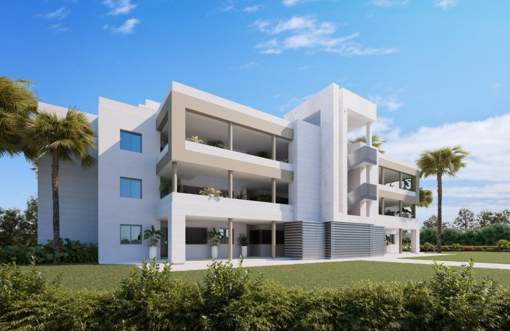 ARFA1385 - Projekt für moderne Wohnungen in Golflage in La Cala de Mijas