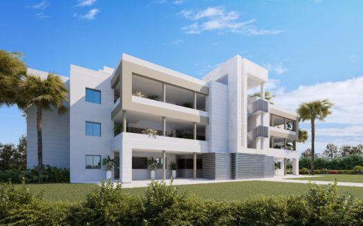 ARFA1385 - Proyecto de apartamentos modernos en el campo de golf de La Cala de Mijas