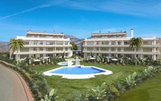 ARFA1380 - 23 exklusive neue Wohnungen und Penthäuser zum Verkauf in la Cala de Mijas