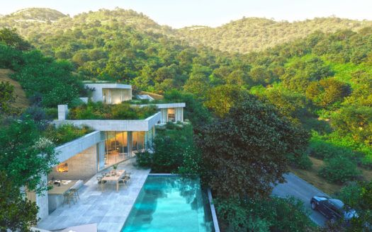 ARFV2130-308 - Modernes Villen Projekt mit Panoramablick bei Benahavis in Monte Mayor zu verkaufen