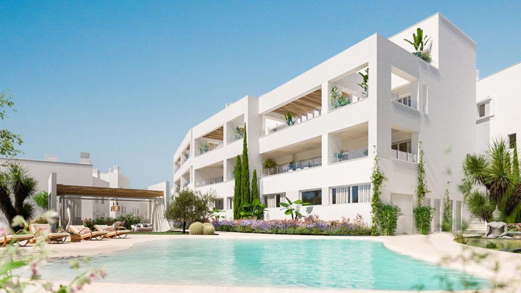 ARFA1187 - Projektierte Wohnungen im modernen Stil zum Verkauf in Los Altos de Los Monteros in Marbella