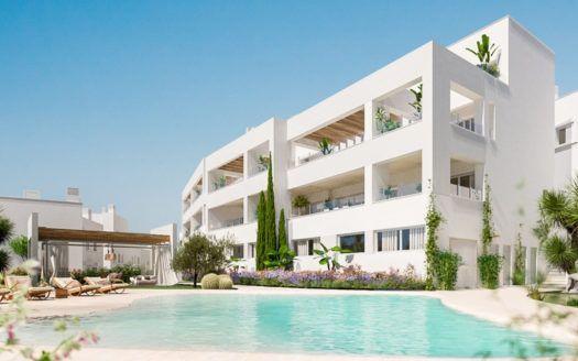 ARFA1187 - Project for new modern apartments for sale in Altos de Los Marbella in Marbella