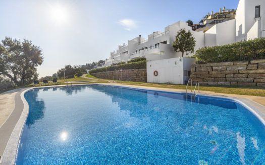 ARFTH160 - 26 Townhäuser in Hanglage mit schönem Meerblick zum Verkauf in La Mairena