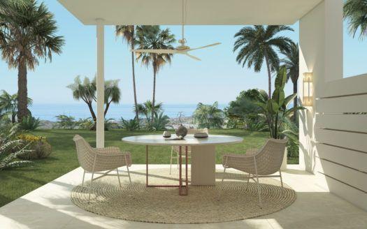 ARFA1219 - Neubau-Projekt mit unglaublichem Meerblick zu verkaufen bei Benahavis