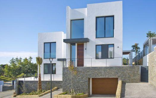 ARFV2146 - Neubauvillen in Golflage mit Meerblick in Artola in Marbella